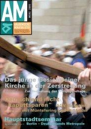Das junge Gesicht einer Kirche in der Zerstreuung - KV