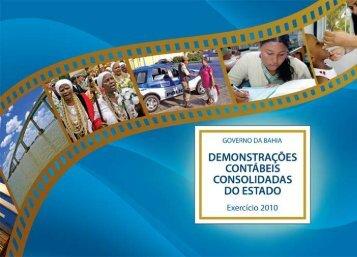 Prestação de Contas - Secretaria da Fazenda do Estado da Bahia ...