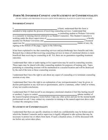 confidentiality and informed consent 358 rev med minas gerais 2013 23(3): 357-362 telehealth: con≥dentiality and informed consent countries such as brazil where health services are un .