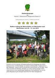 13. Juni 2010 - Hessisch- Waldeckischer Gebirgs