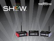 SHoW DMX sales brochure - City Theatrical