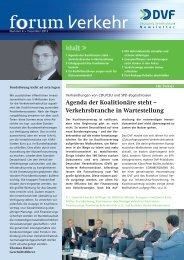 Zum Download im PDF-Format - Deutsches Verkehrsforum