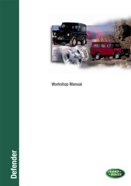 Defender 90 Workshop Manual - Internet-Tools co uk