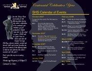 Centennial Calendar 09-02.indd - Selwyn House School