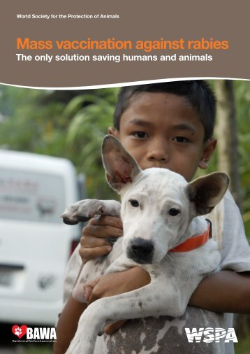 Mass vaccination against rabies - WSPA