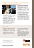 Mass vaccination against rabies - WSPA - Page 4