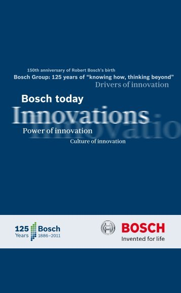 Bosch today
