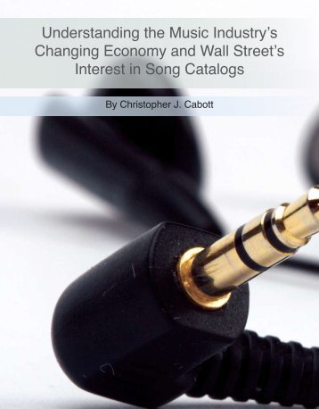 Understanding the Music Industry's Changing Economy and Wall ...
