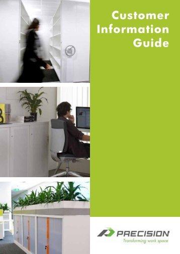 Customer Information Guide - Precision Workspace NZ