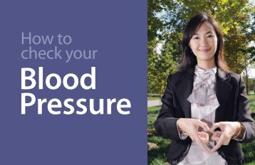 How to Check Your Blood Pressure - Health Education Resource ...
