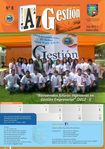 Boletín No .8 Marzo 2012 - Universidad Nacional Agraria La Molina