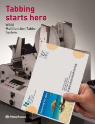 W360 Multifunction Tabber System - Pitney Bowes