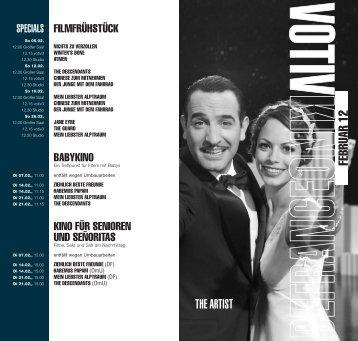 FEBRUAR 12 THE ARTIST - Votivkino
