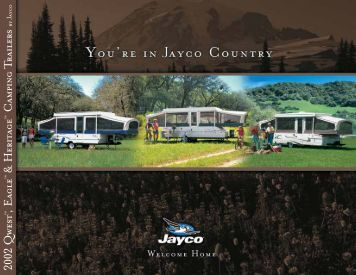 2002 Qwest ,Eagle & Heritage Camping Trailers - Jayco