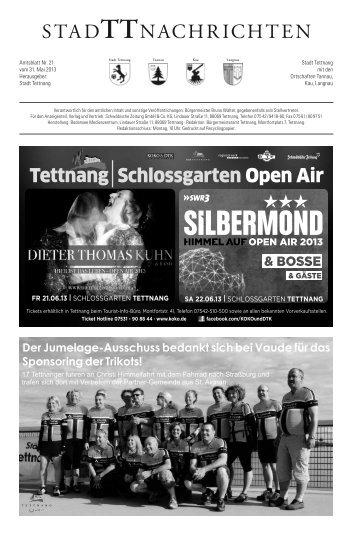31.05.2013 - Stadt Tettnang
