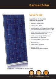 Datenblatt - German Solar