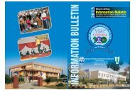 Information Bulletin - Indian Veterinary Research Institute