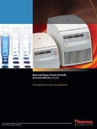 Microcentrífugas Thermo Scientific de la serie MicroCL 17 y 21 Una ...