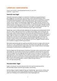 Samfunnsfag med synlige endringer - Udir.no