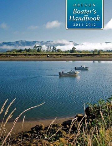 Boater's Handbook - State of Oregon