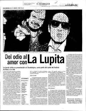 amor con Del odio al - Prensa y Comunicaciones - Universidad de ...