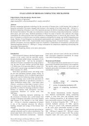 EVALUATION OF BIOMASS COMPACTING MECHANISMS