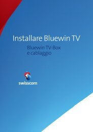 Installare Bluewin TV - Swisscom