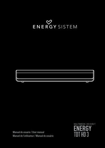 ENERGY TDT HD 3 - Energy Sistem