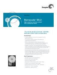 Barracuda® ES.2 - Seagate