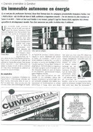 14/05/2007 Tout l'immobilier Un immeuble - Charpente concept