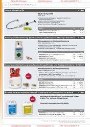 Kompressoröl PAG - Rösner KFZ Werkzeuge