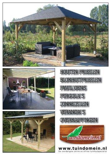 Een aluminium veranda - Tuindomein.nl