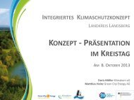 Abschlussveranstaltung Präsentation - Landkreis Landsberg am Lech