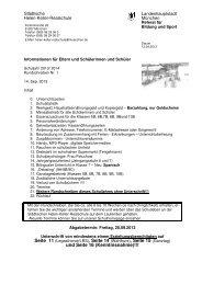 und Seite 16 (Kenntnisnahme)!!! - Städtische Helen-Keller-Realschule