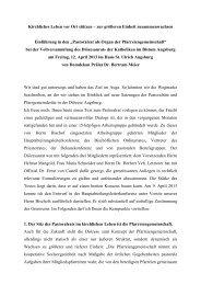 Kirchliches Leben vor Ort stützen - Bistum Augsburg