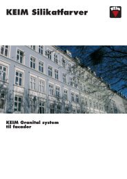 Download Produktbrochure (ca. 330 KB) - KEIM Scandinavia A/S