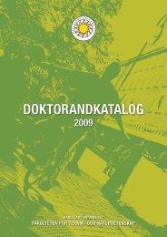 DOKTORANDKATALOG - Karlstads universitet