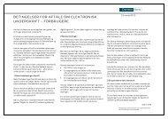 Betingelser for aftale om elektronisk underskrift - Danske Bank