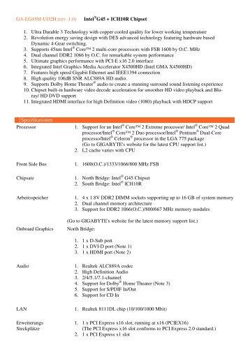 Jetway XBLUE-P43 Intel Chipset Linux