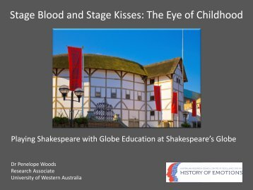 Stage Blood and Stage Kisses: The Eye of Childhood