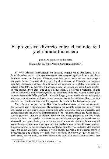 El progresivo divorcio entre el mundo real y el mundo financiero