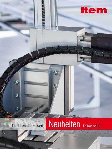 Neuheiten PDF - item Industrietechnik GmbH