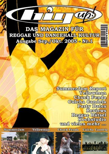 DAS MAGAZIN FÜR - Big Up! Magazin