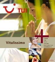TUI - Vitalissimo - Sommer 2011 - tui.com - Onlinekatalog
