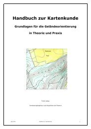 Handbuch zur Kartenkunde - Kasper & Richter GmbH & Co. KG