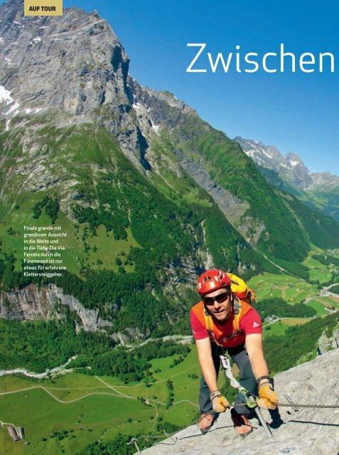 Bergsteiger, August 2011, Deutschland - Engelberg