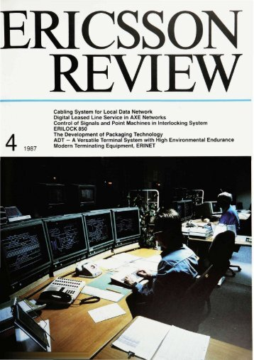 Cabling System for Local Data Network - ericssonhistory.com