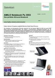 AMILO Notebook Pa 3553 - Cimring Computer Grosshandel