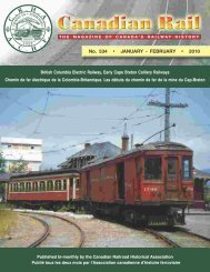 British Columbia Electric Railway Company Limited - Le musée ...