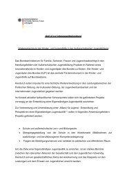 Aufruf zur Interessenbekundung - Kompetenzagenturen